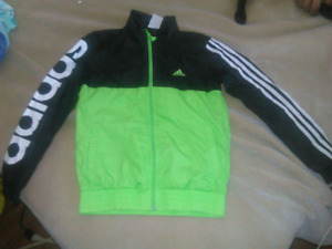ADIDAS Lined Spring / Fall Coat Size 9-10 Youth