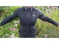 Ladies Medium RK Sports textile jacket in nice clean condition