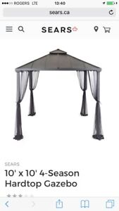 Gazebo hardtop 10x10 4 saisons / season