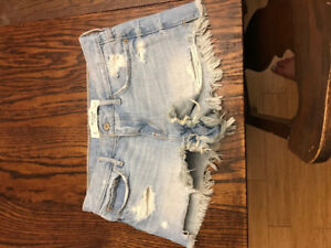Never Worn Abrcrombie Shorts