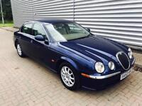 Jaguar s type 2.5 v6 in stunning condition 1 owner from new full jag service history 1 years mot