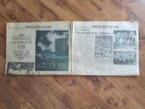 Kitchener-Waterloo Record Waterloo 125 Years June 18, 1982