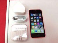 Apple iPhone 5c 16GB Pink, Unlocked + Warranty, NO OFFERS