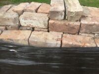 Reclaimed Bricks, hand made 75/80mm approx 750 of them