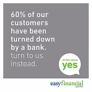 Easy Financial Services - Loans from $500 - $15,000 - We Say Yes