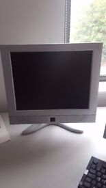 17 Inch Grey Flat Screen Monitors (x 11) Will sell all 11 to one buyer or individually