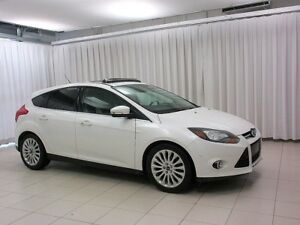 2012 Ford Focus TITANIUM 5DR HATCH, LEATHER, SUNROOF, NAVIGATION