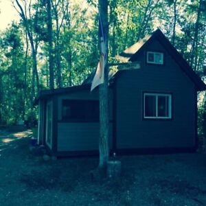 Cabin on leased lot