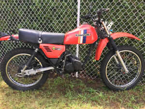 Kawasaki ke125 dirtbike to trade for small 4stroke like ct70.