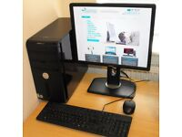 Quad Core Complete Windows 10 PC Dell Vostro 400 2.40GHz
