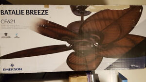 "New Emerson Fans - CF621VNB - Batalie Breeze - 52"" Ceiling Fan"
