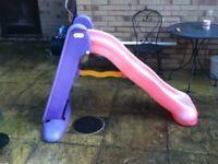 Child's slide for garden