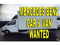 Mercedes Sprinter 208D - 308D - 310D - 312D -VANS WANTED ANY CONDITION