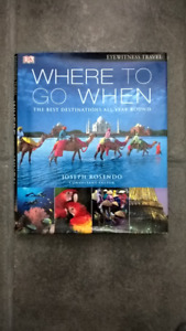 New Where to Go When hardcover coffee table book