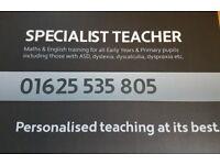 SPECIALIST TEACHER & TUTOR FOR PRIMARY ENGLISH & MATHS INTERVENTION & CATCH-UP PROGRAMMES UK & DUBAI
