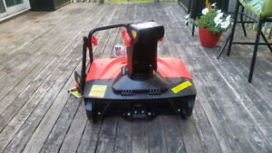 New in the box Snow Devil electric snow blower