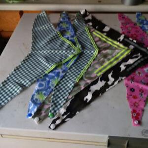 fleece pet coats /bandannas