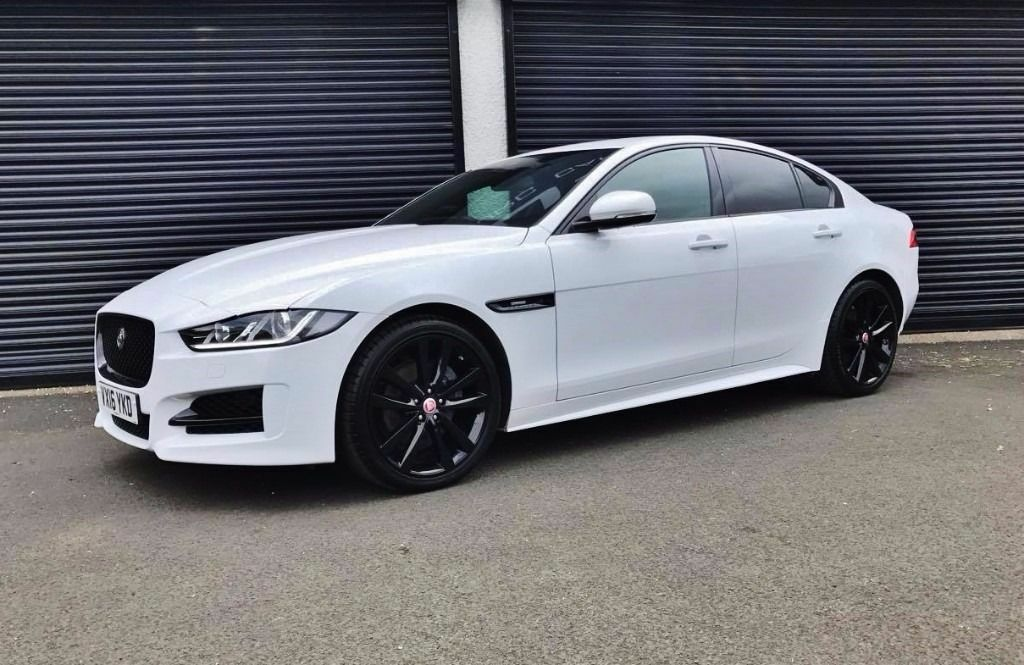 2016 jaguar xe r sport 2 0 d 180 black pack finance available xf in cullybackey county antrim. Black Bedroom Furniture Sets. Home Design Ideas