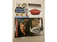 Collection of x4 unused cook books