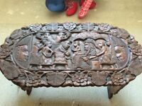 Lovey African carved table