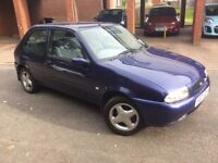 Ford Fiesta 1.4 Zetec ,S reg ,only 79620 miles with service history