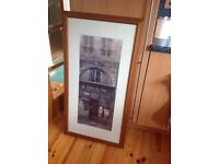 French setting print picture