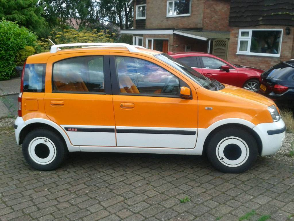 fiat panda alessi 2006 06 in ashby de la zouch leicestershire gumtree. Black Bedroom Furniture Sets. Home Design Ideas