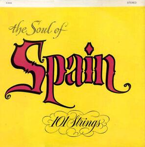 Soul of Spain-101 Strings LP & 15 of LPS minus covers-$5 lot