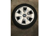 BMW steel wheels, trims & tyres