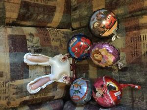 ballon de fêtes et divers objet