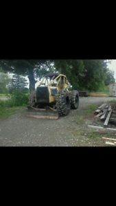 664b Clark Ranger line skidder (would hire you to cut as well)