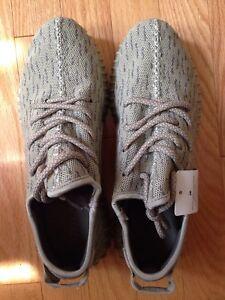 Grey Adidas Yeezy Boost 350 Size 7.5 US