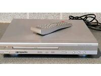DVD Player - Compacks DVD8005 - plays DVD, CD, CD-R & CD-RW discs