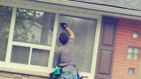 Window cleaning in a pinch!