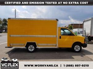 2012 Chevrolet Express 3500 G3500 12Ft SRW - GVW9600LB = No CVOR