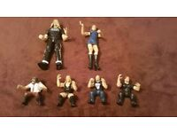WWE / WWF Wrestling Figures Bundle