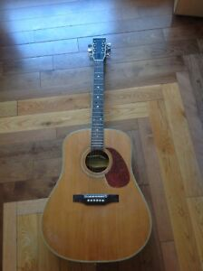 Vintage 1972 Harmony Regal H-6600 Acoustic Guitar