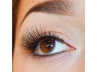Eyelash extensions free of charge