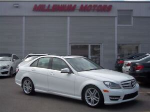 2013 Mercedes-Benz C-Class C300 4MATIC / LEATHER / SUNROOF