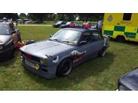 BMW 318i e30 - modified, police car, swap