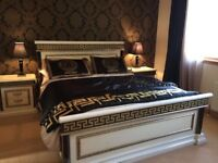 Kingsize bedframe - Imported high quality Italian furniture ****Stunning**** Versace