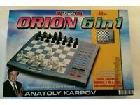 Millennium- ORION- 6 In 1 Chess etc.