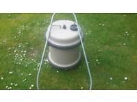 Roller water container for caravan