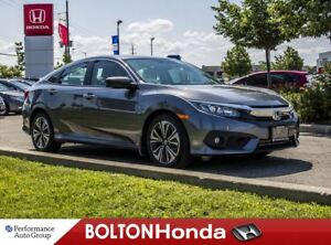 2016 Honda Civic EX-T|Moon Roof|Bluetooth|Camera|One Owner
