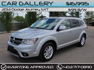 2013 Dodge Journey SXT 7 Pass $99B/W QUICK  EASY FINANCING-INSTA