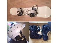 Snowboard & accessories