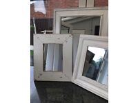 Selection of shabby chic mirrors