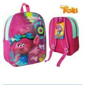 New official trolls back pack