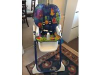 Fisher price ocean high chair SOLD