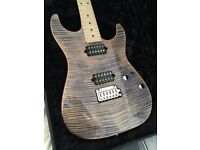 2017 Suhr Standard Trans Blue Denim Slate With Matching Headstock